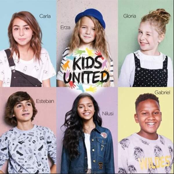 En novembre 2015, Les kids United sortent leur premier album certifié disque de diamant avec 700 000 ventes