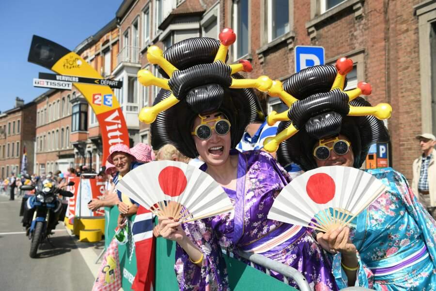 Vous ne le saviez peut-être pas, mais il y a un coureur japonais sur le Tour (Yukiya Arashiro, pour les intéressés)