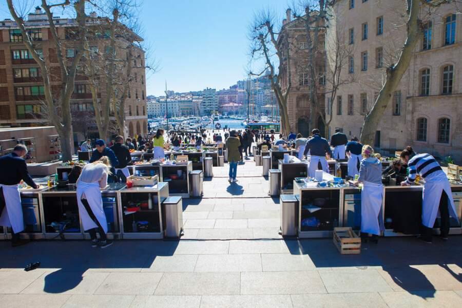 Les candidats ont subi une épreuve impressionnante à Marseille
