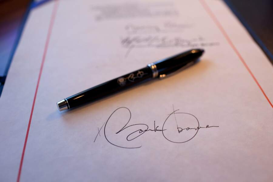 La fameuse signature