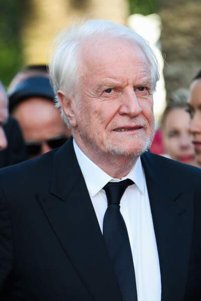 André Dussolier lors de la montée des marches pour Le Petit Prince, au 68ème Festival de Cannes