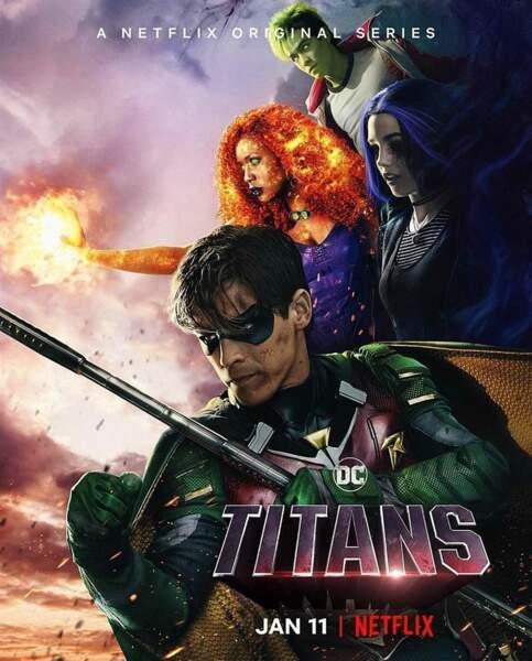 Dans Titans, ils sont des superhéros ! Mais à quoi ressemblent les comédiens en réalité ?