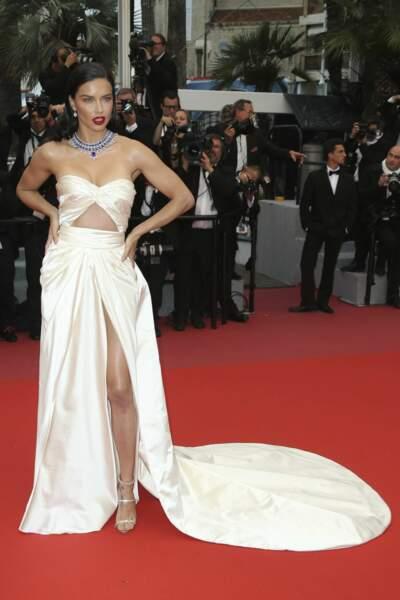 Adriana Lima, le top model