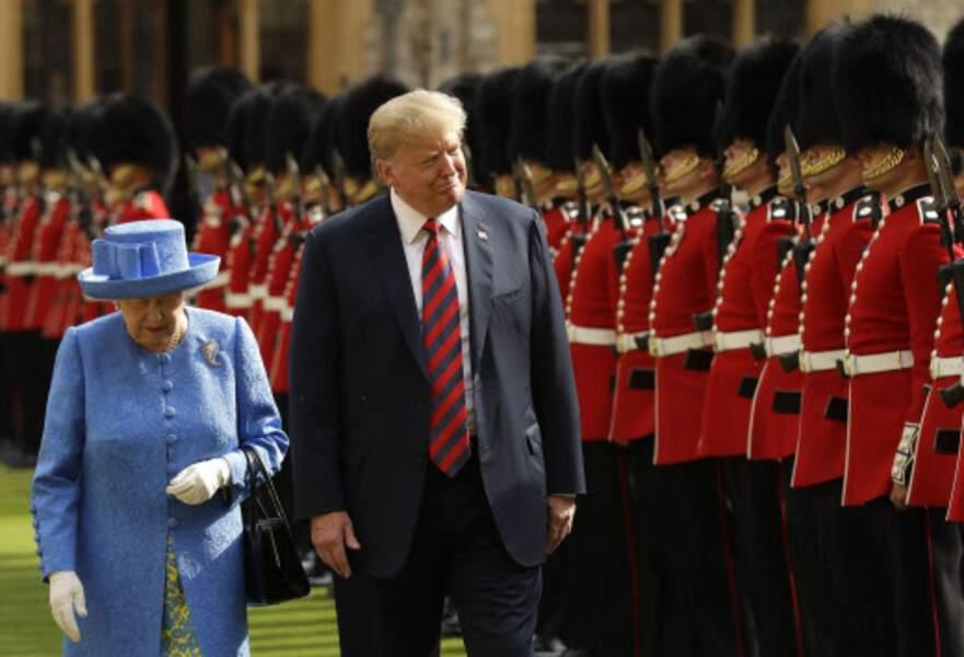 Le Président américain semble passer un moment royal !