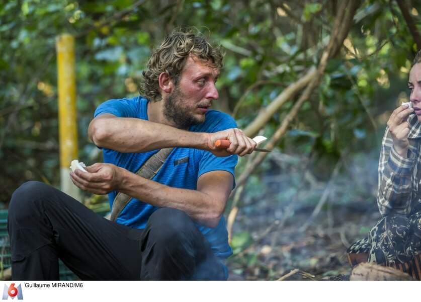 Amaury Leveaux savoure sa coco