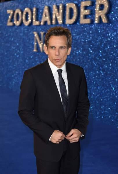 Mais la vraie star de la soirée c'est lui : Ben Stiller !