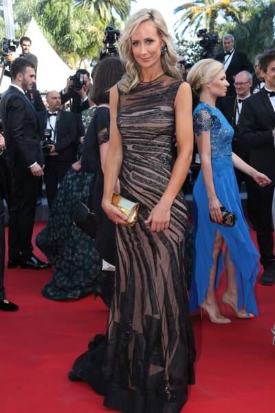 Lady Victoria Hervey lors de la montée des marches pour Le Petit Prince, au 68ème Festival de Cannes