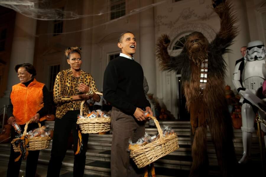 Halloween version Star Wars, on sait s'amuser à la Maison-Blanche !