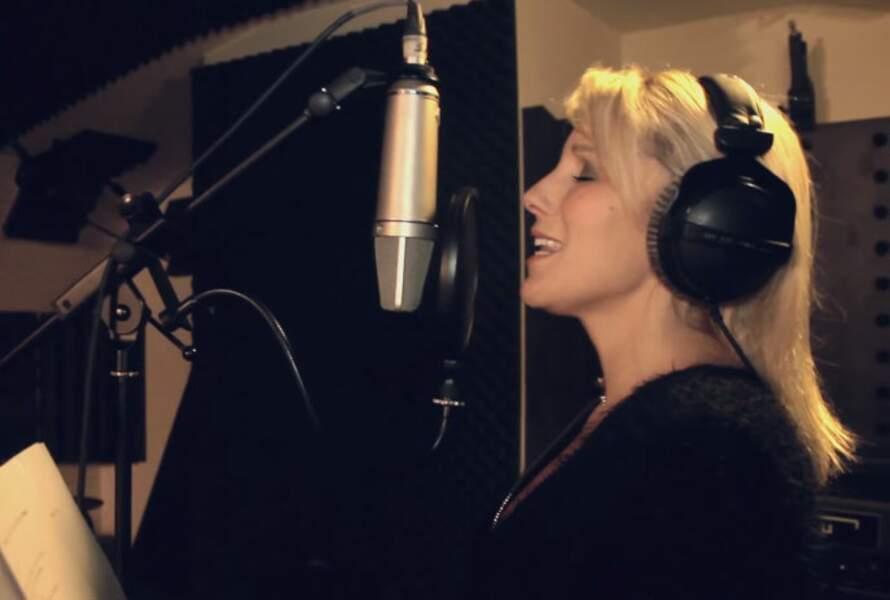 Myriam Abel n'a pas abandonné sa passion du chant !