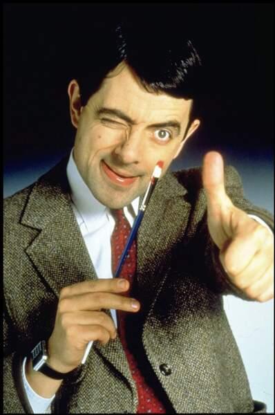 Mr Bean ne parle pas. Heureusement, ses expressions faciales sont là !
