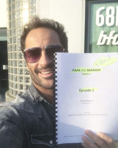 En vrac : les fans de Florent Peyre pourront le retrouver dans la série Papa ou maman.