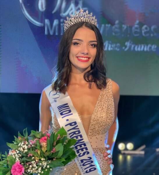 Andréa Magalhaes a été élue Miss Midi-Pyrénées