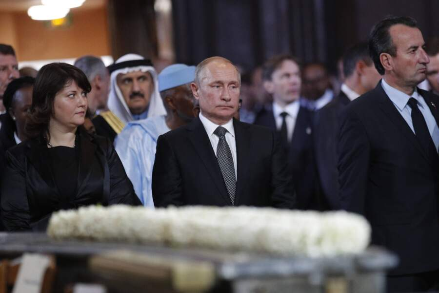 Tout comme Vladimir Poutine.