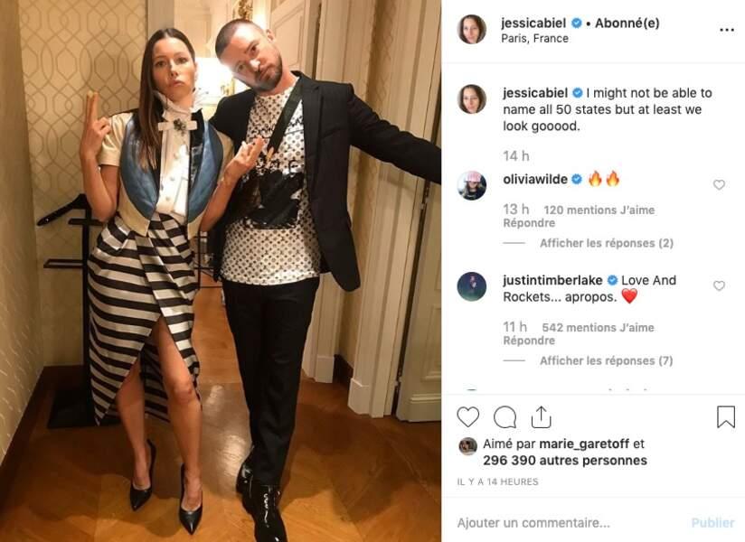 Jessica Biel et Justin Timberlake, tout aussi amoureux mais plus drôles