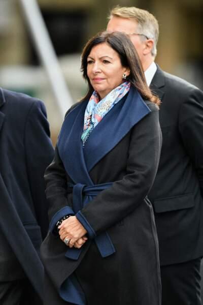 La classe politique française était présente à l'image de la Maire de Paris, Anne Hidalgo.