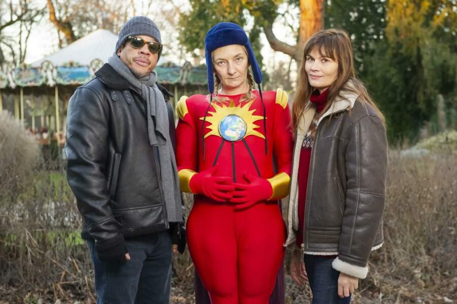 La voilà bien entourée, avec JoeyStarr et Marina Hands en guest stars...