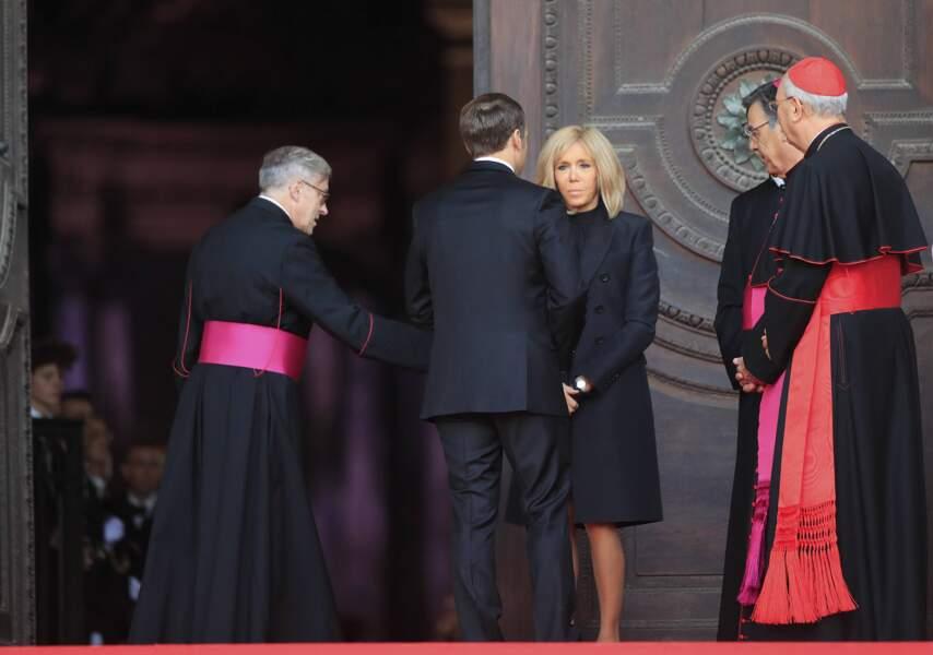 Emmanuel et Brigitte Macron étaient bien entendu présents.