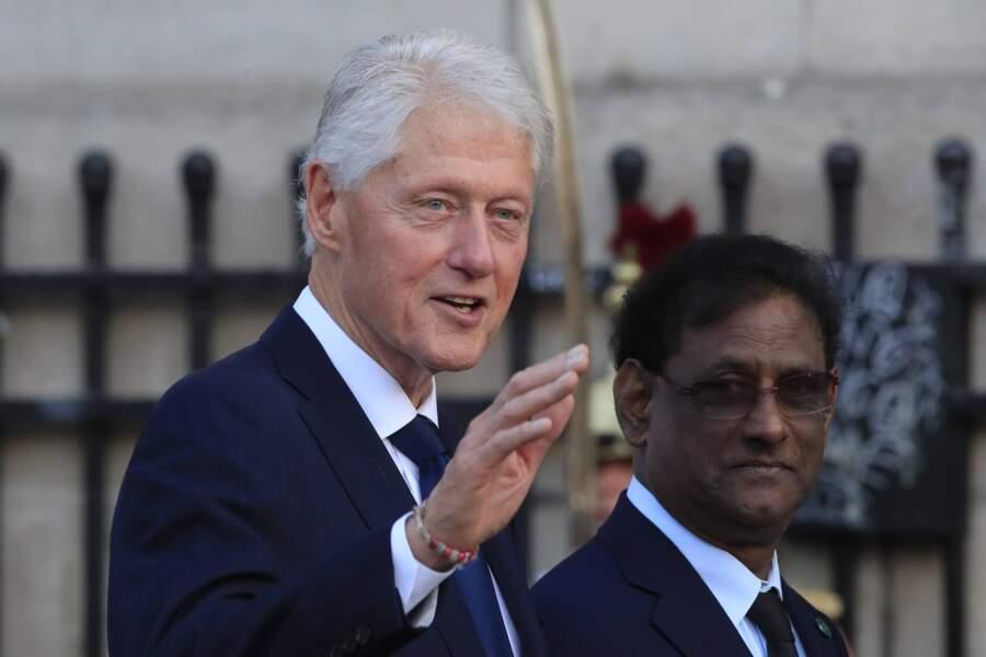 L'ancien Président américain, Bill Clinton, avait également fait le déplacement.
