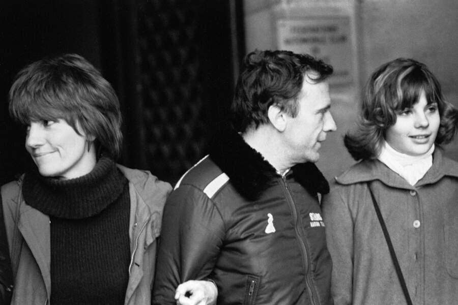 Avec sa femme Nadine et son aînée, sa fille Marie
