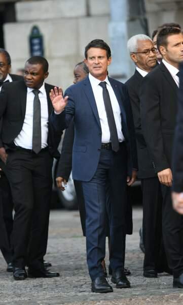 Manuel Valls s'est déplacé également.