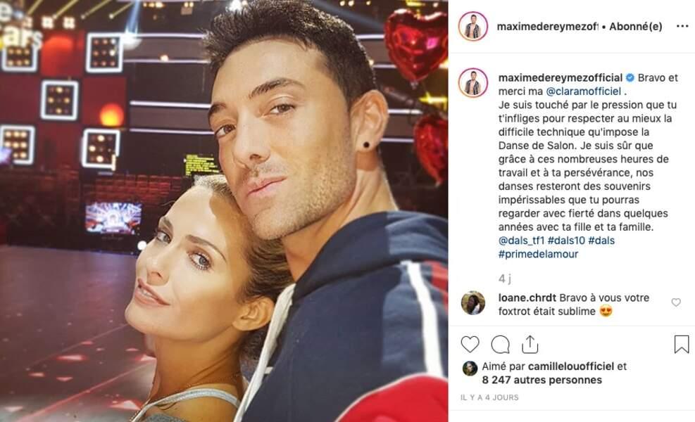 Clara Morgane et Maxime Dereymez sont prêts pour DALS