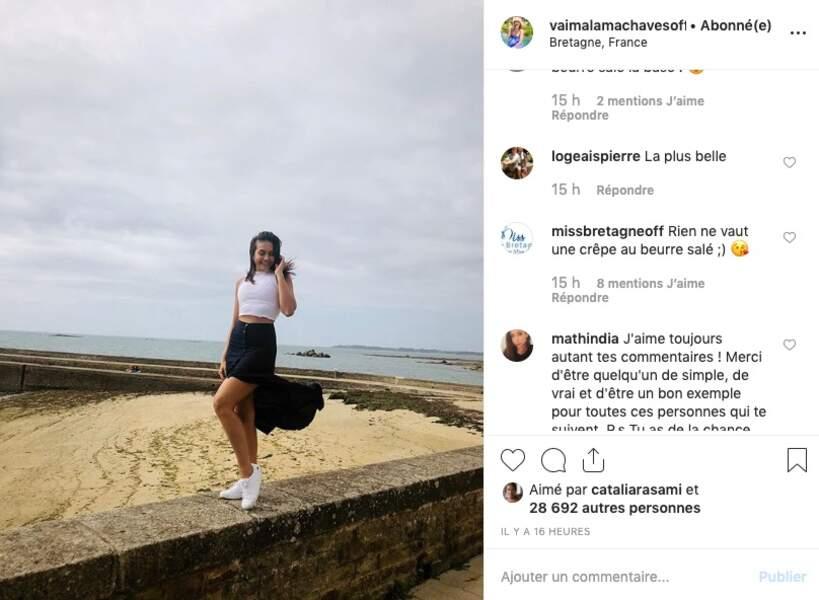 Miss France préfère le gris breton