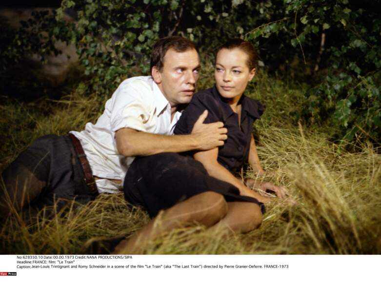 Une courte relation de trois mois, l'acteur étant toujours marié à Nadine (ils divorceront au début des années 80)