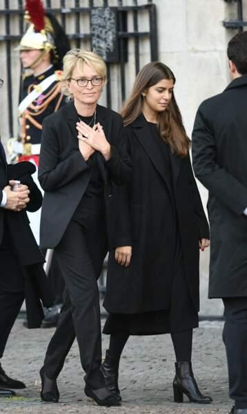 Claude Chirac, la fille de l'ancien Président, représentait le clan Chirac.
