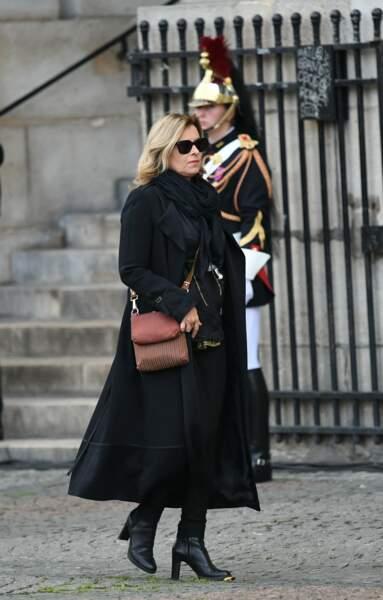 Valérie Trierweiler était présente lors des obsèques de Jacques Chirac.