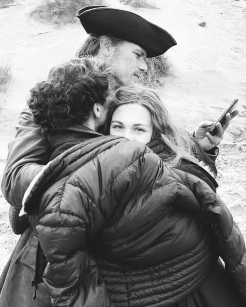 Des photos parfois même très touchantes, comme ce très joli portrait de la famille Fraser