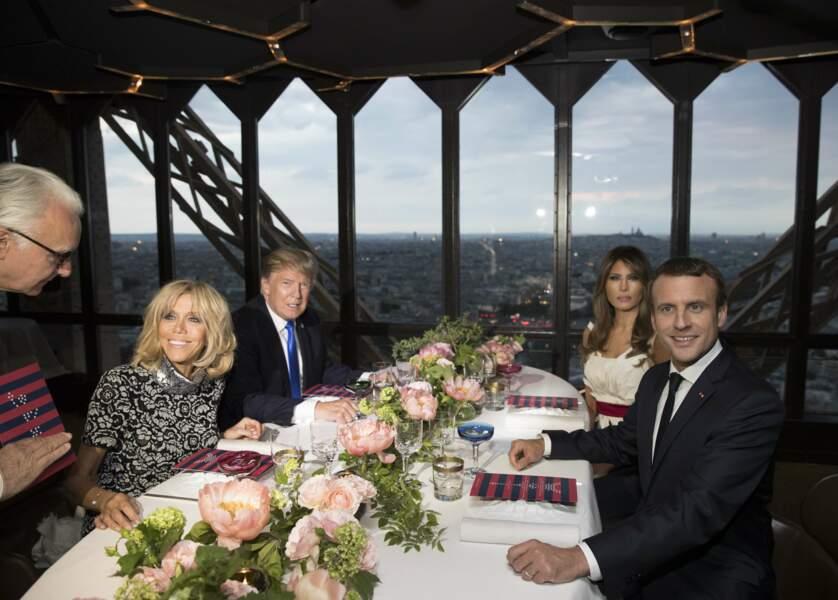 On ignore si Donald Trump, fan de cheeseburgers et de ketchup, a su faire honneur à la gastronomie française