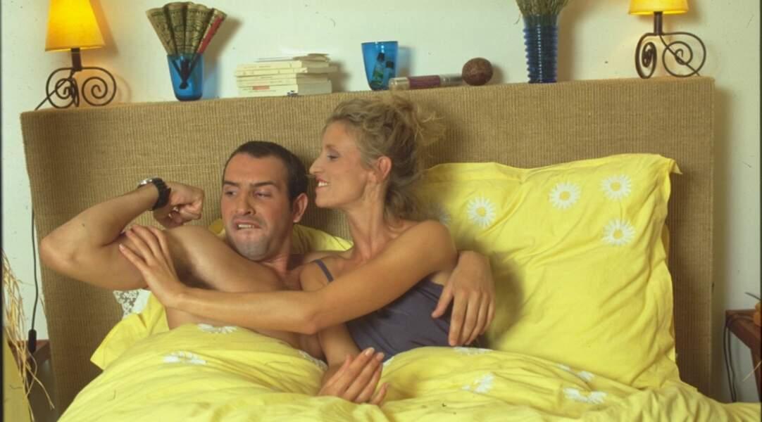 Jean Dujardin et Alexandra Lamy se sont rencontrés dans Un gars, une fille (France 2) en 1999