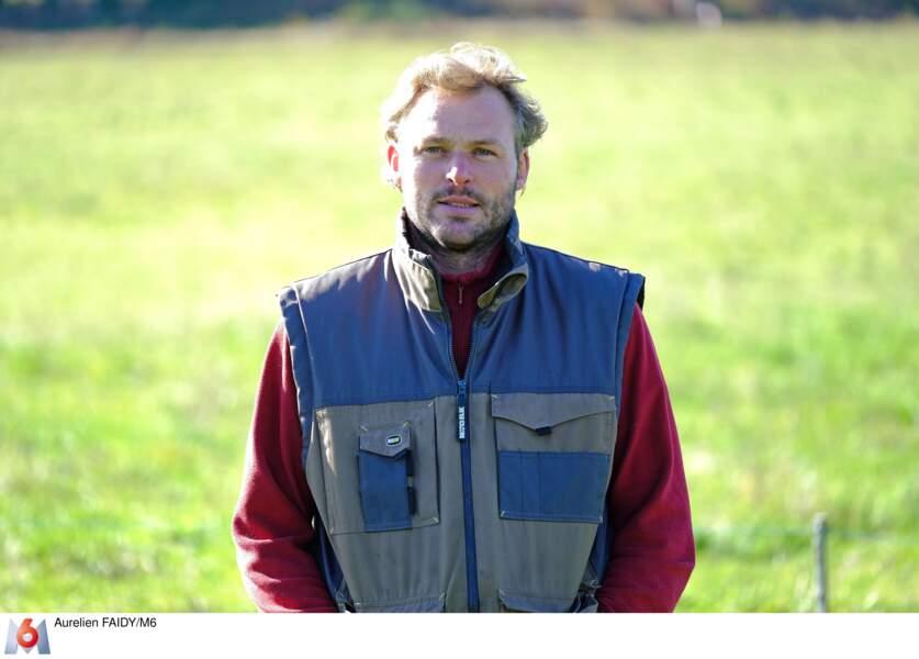 Samuel, 40 ans, éleveur de vaches laitières en Nouvelle Aquitaine