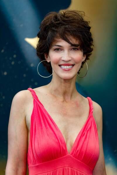 En 2017, elle est rayonnante au Festival TV de Monte Carlo