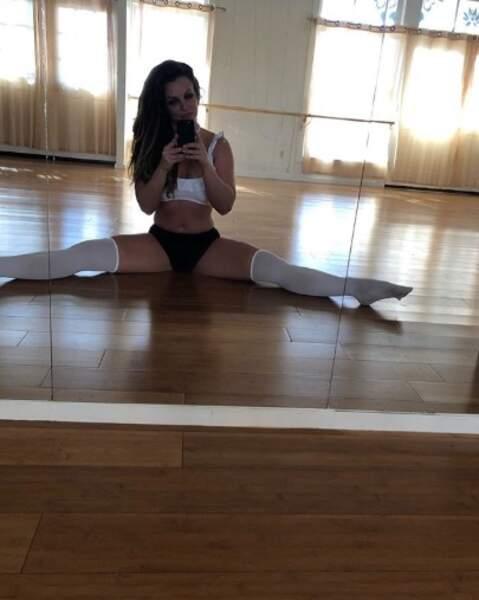 Pour Britney Spears, c'est gymnastique.