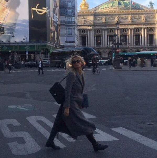 Vous avez prévu quoi ce week-end ? Shopping comme Estelle Lefébure ?