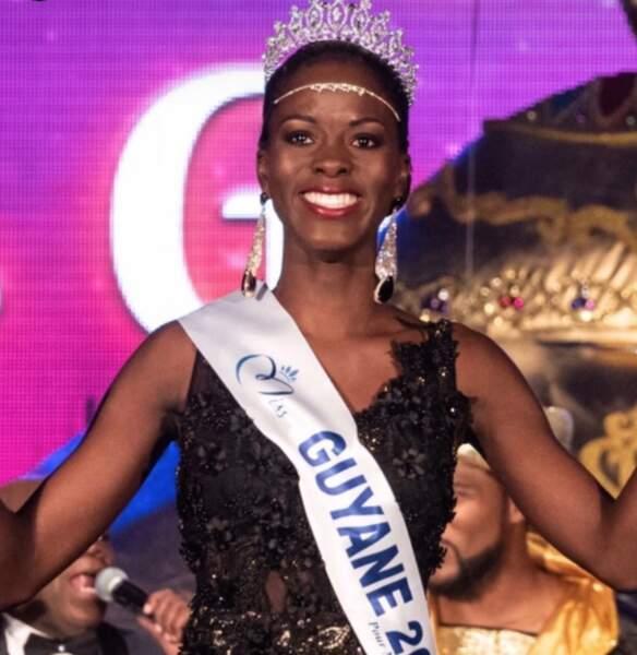 Voici Dariana Abe, Miss Guyane