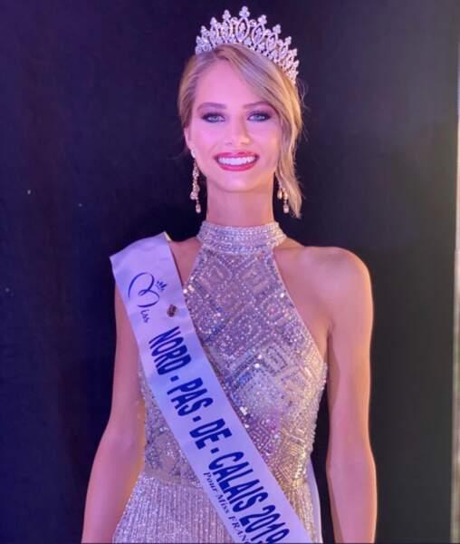 Florentine Somers est Miss Nord-Pas-de-Calais !