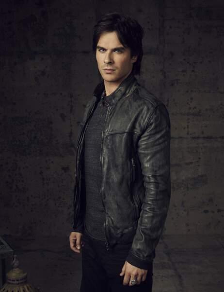 Du côté de Vampire Diaries, nous avons évidemment les frères Salvatore… Avec le ténébreux Damon…