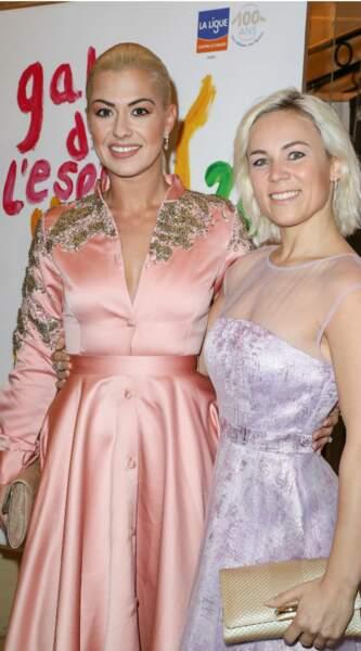 Tout comme les danseuses Katrina Patchett et Emmanuelle Berne, radieuses !