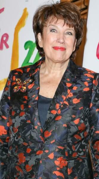 L'ancienne ministre Roselyne Bachelot était présente