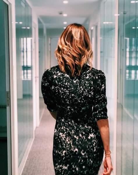 """La jeune femme dévoile sur son compte Instagram quelques clichés """"coulisses"""" de son quotidien à M6"""
