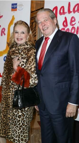 Le Prince Michel d'Orléans et son épouse