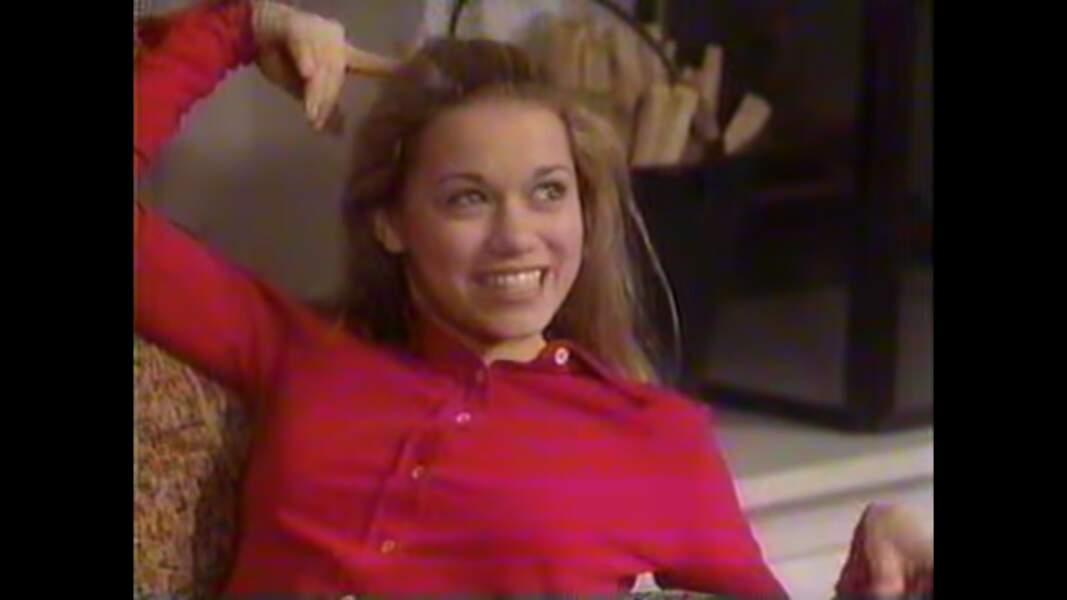 Elle a notamment commencé sa carrière dans la série Haine et Passion