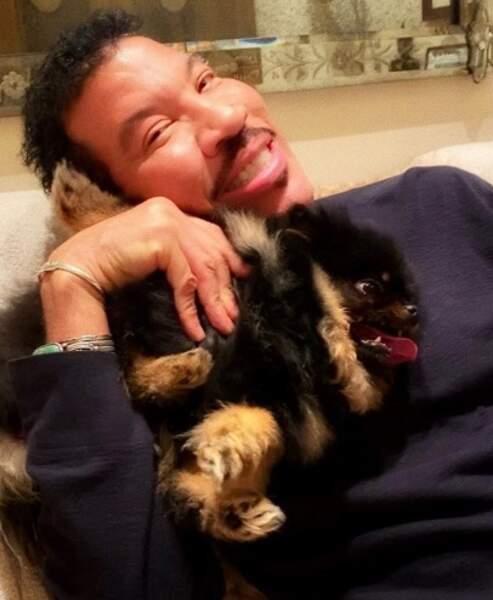 Lionel Richie nous a présenté son petit Sylvester.