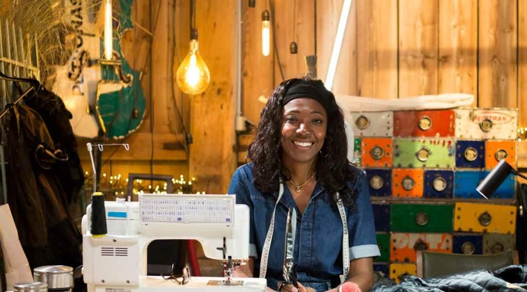 Pascale est l'experte en couture de la bande. Elle a imaginé ses premiers patrons pour ses propres vêtements.
