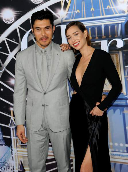 Henry Golding et sa femme Liv Lo