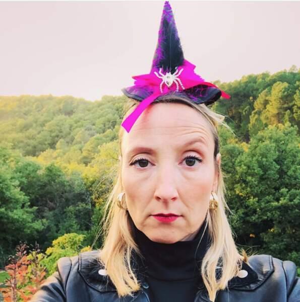 """Audrey Lamy vous souhaite un """"joyeux Halloween"""". Si, si !"""