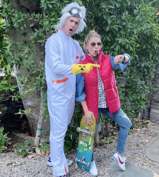 Retour vers le futur pour Sarah Michelle Gellar et son mari  Freddie Prinze Jr.