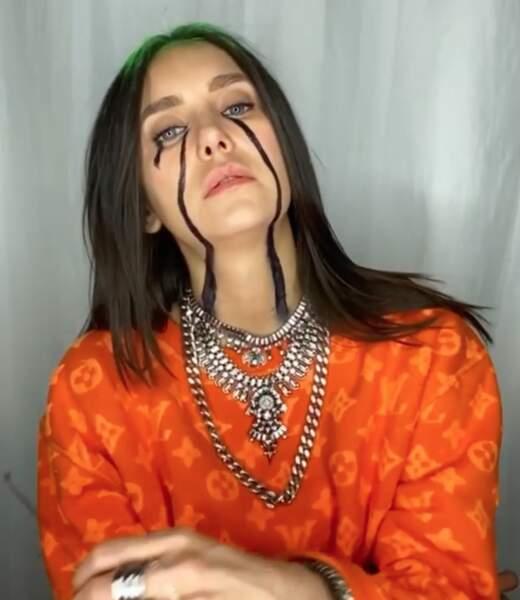 La star de Vampire Diaries Nina Dobrev a surtout misé sur le maquillage